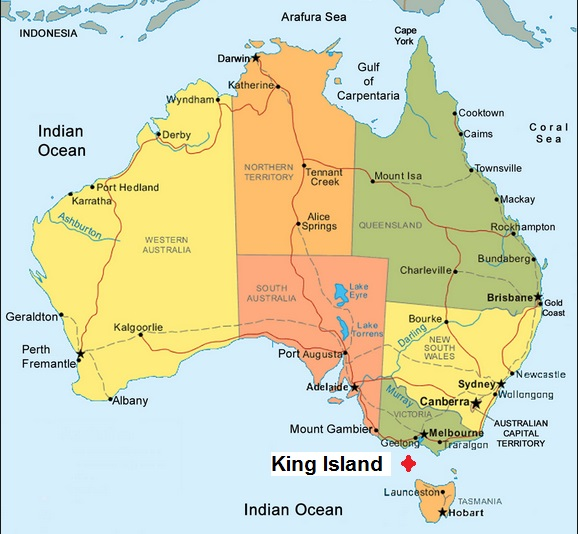 Biggest Island Off Australia