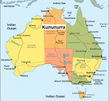 Image result for kununurra map