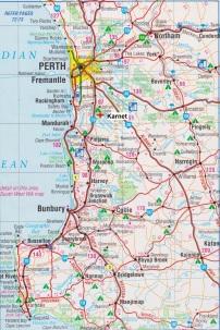 Map. Karnet
