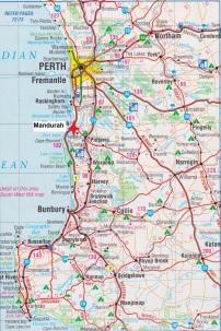 Map.Mandurah