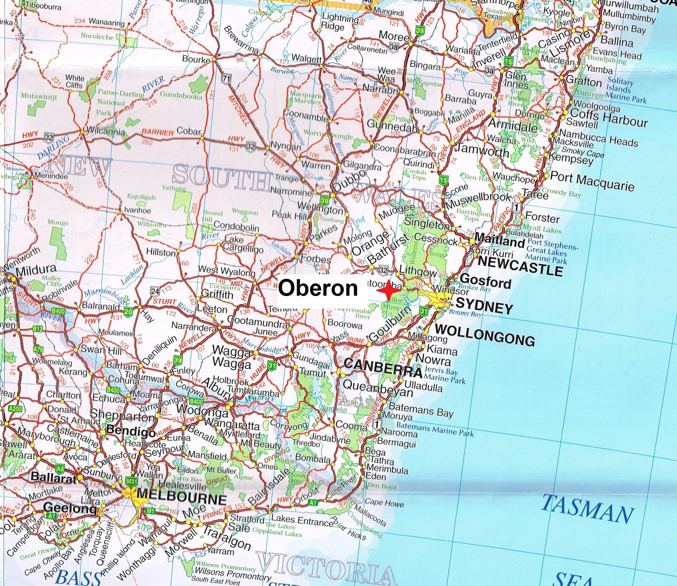 Oberon new south wales